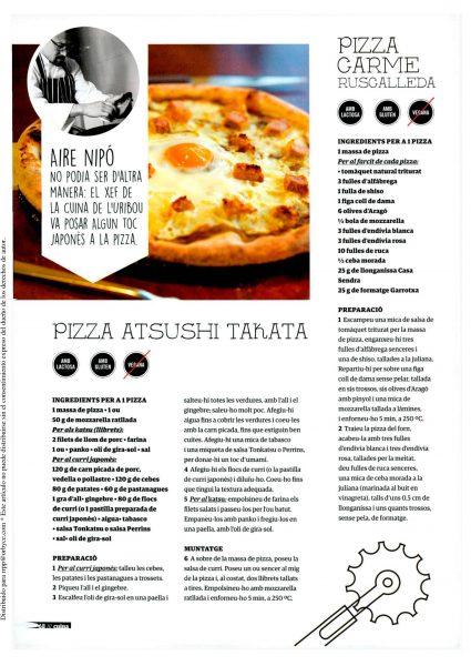 pizza carme ruscalleda
